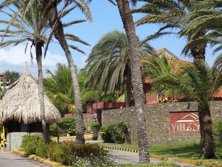 Villas del Sol Main Entrance
