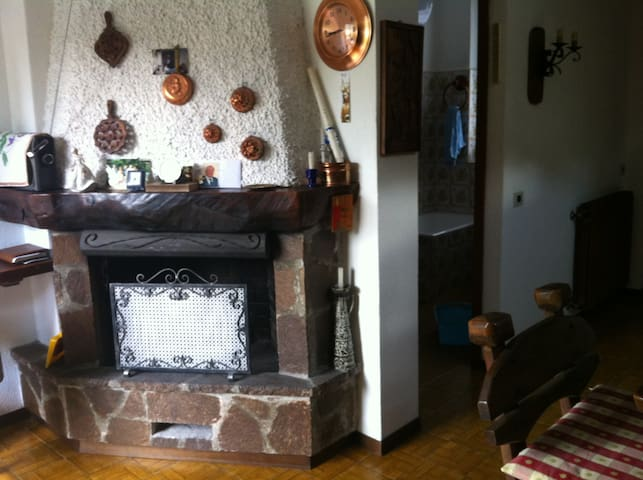 Cozy apartment at Bergamo mountains - Zambla Alta - Huis