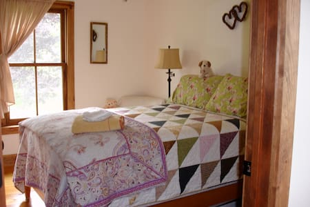 Serengeti Room with full size bed