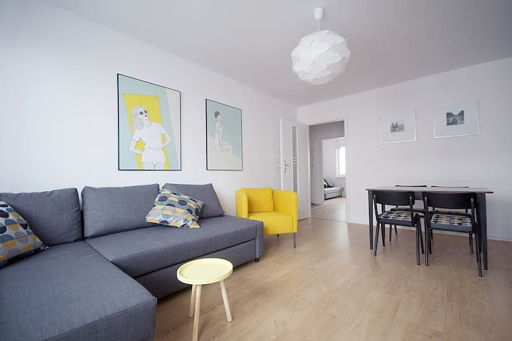 Spacious flat in Gdańsk Oliwa - Gdańsk - Appartement