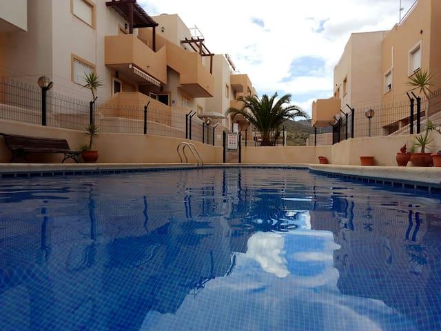 Nice apartment in La Azohía looking to the sea.