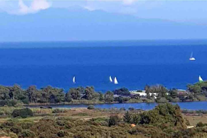Maison familiale à Furiani  Vue mer et montagne