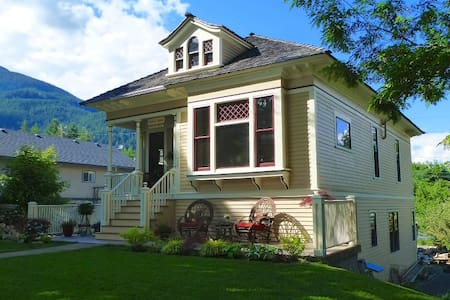 Kaslo House: Charming Heritage Home Apartment - Kaslo - Apartamento