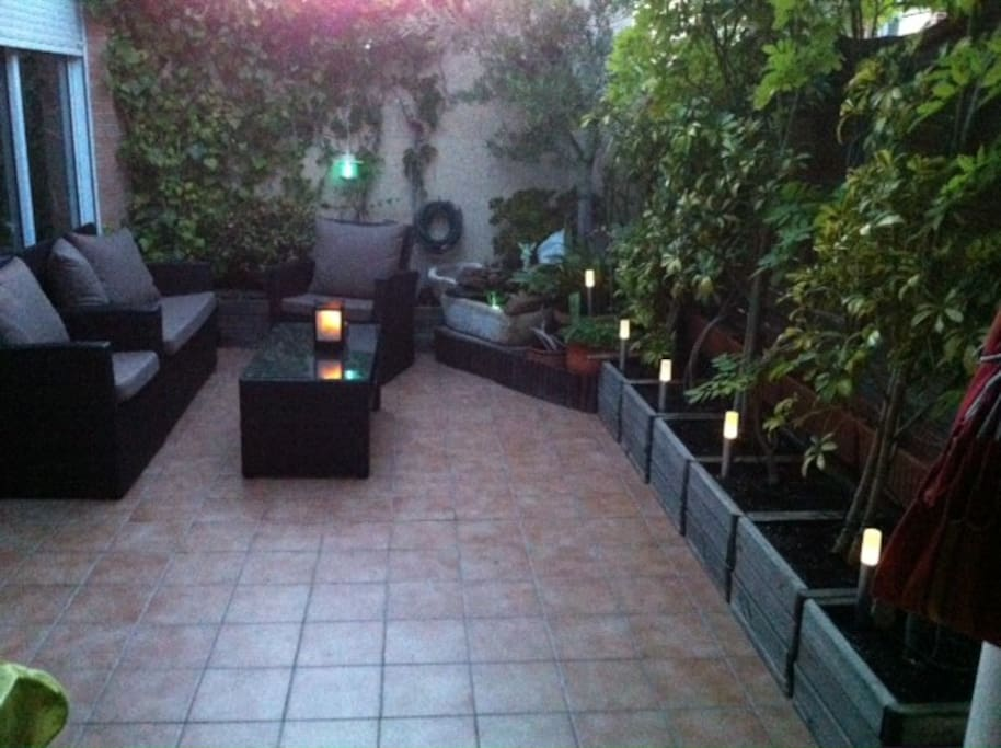 La casa dispone de una preciosa terraza