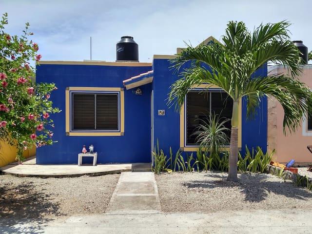 Casa Karuña Chan Chemuyil Akumal Jungle Paradise - Quintana Roo - Huis