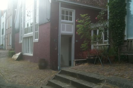 Old Dutch painter canal house - Edam