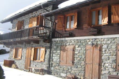 Baita ristrutturata Val D'Aosta - Antagnod - Cabaña
