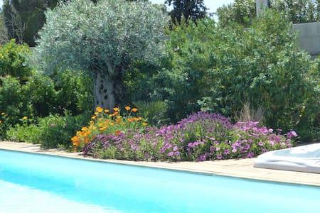 Gite Les Lauriers Roses - Piscine et Jacuzzi