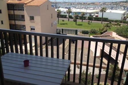 Apartment 36m2 see view Cap D'Agde  - Agde - Apartment