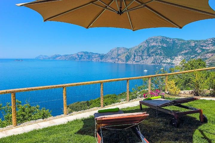 Casa Cinque house Sea view + WIFI