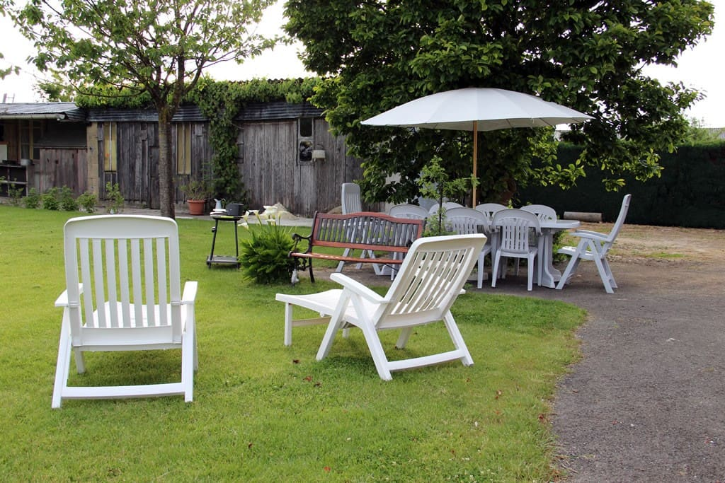 Pour les beaux jours, salon de jardin