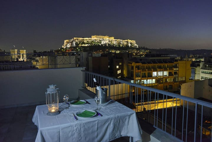 Acropolis view just 4 you! - Athina - House