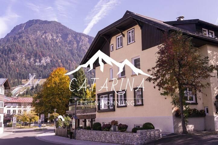4*-Ferienwohnung direkt am Nebelhorn in Oberstdorf