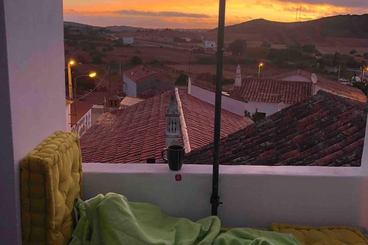Casa Ivana- romantic Algarve Surfhouse/Pelletofen
