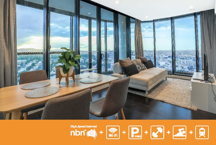 Comfort 2 bedroom Apartment + Parking  BNEFVW3P9 - Long Term Available via Inquiry