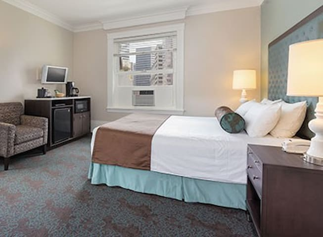 A One Bedroom Hotel Style Suite in Union Square