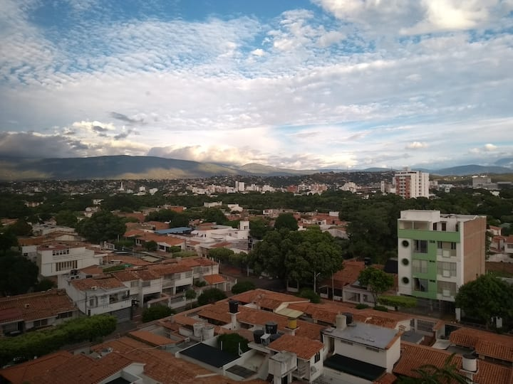 Comfy apartment with excellent view of Cúcuta