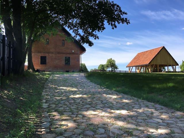 Przepięknie odrestaurowany dom siedlisko Mazury - Lisewo - Rumah