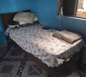 Casa com um quarto para finais de semana