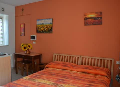 Couples' accomodation in countryside