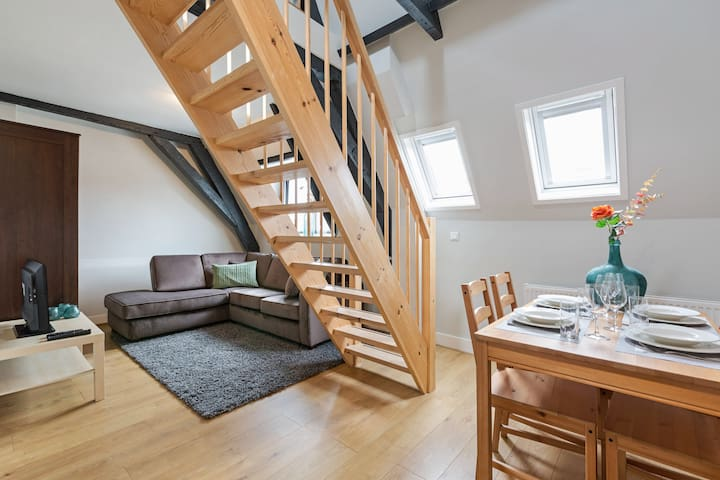 Renovated apartment in Utrecht's centre