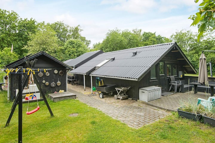 Attractive Holiday Home in Oksbol with Sauna