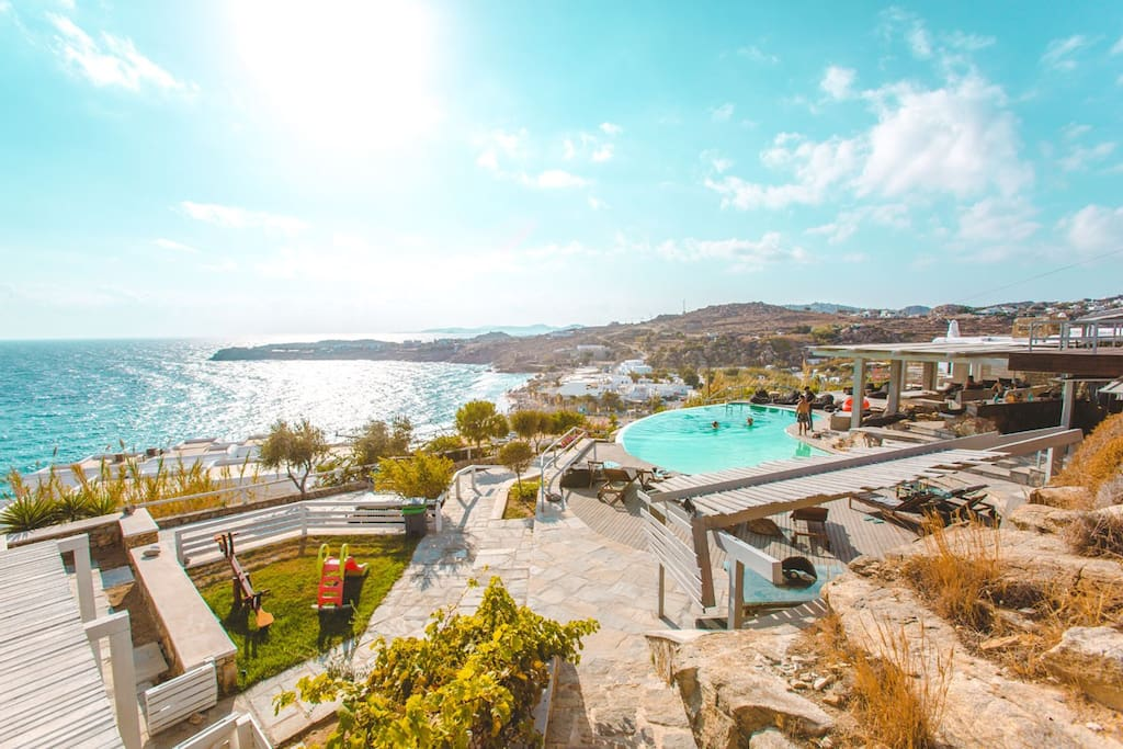The resort Pool and Views