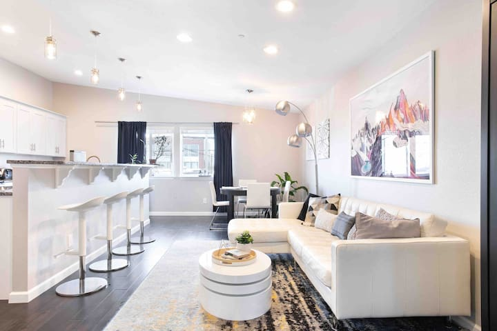 Chic, Ultra-Clean, Brand New 2BR in RiNo Art Dist