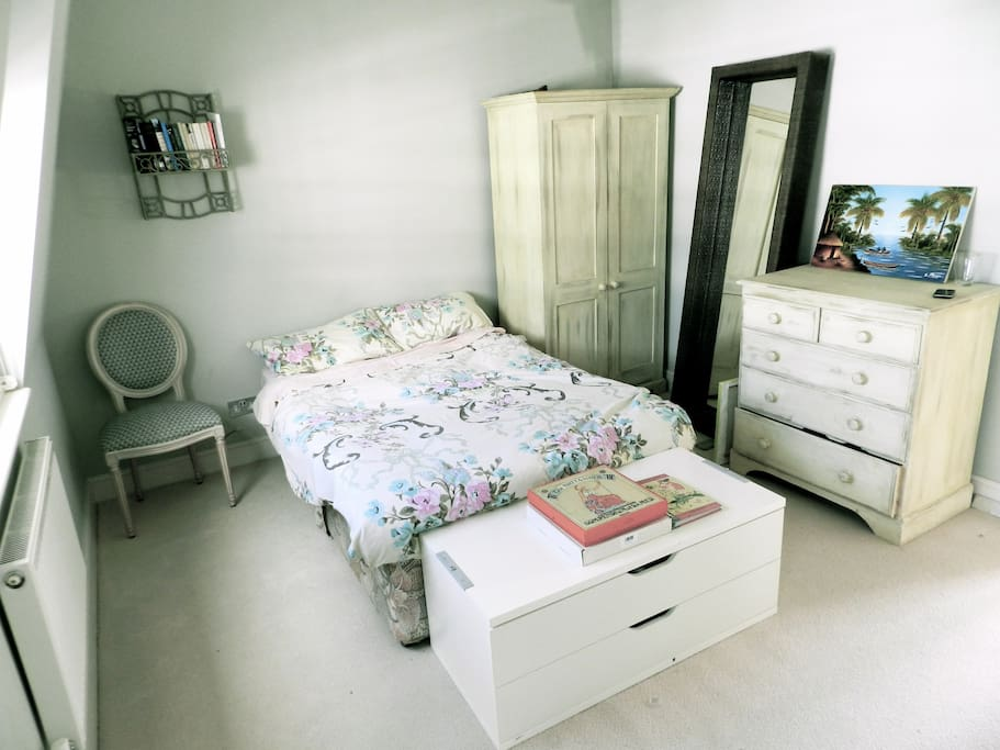 double bedroom with own private bathroom