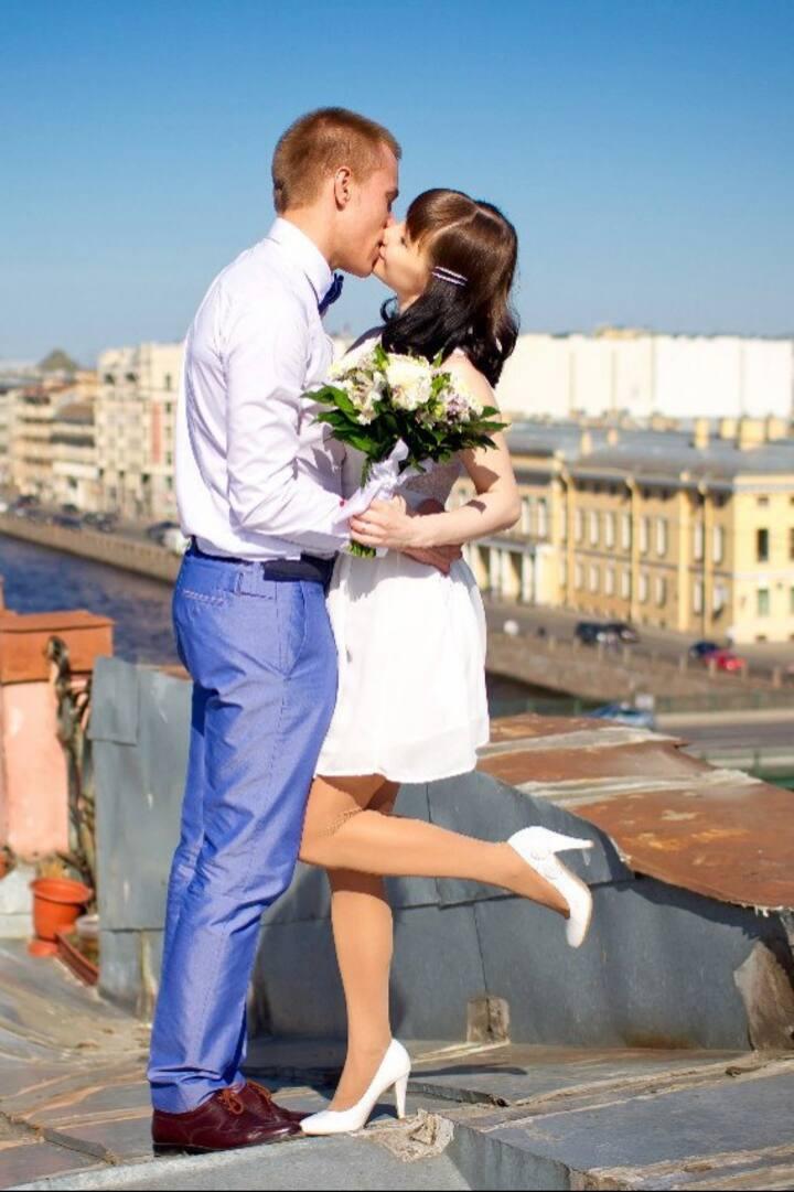 Любовь и романтика на крышах)