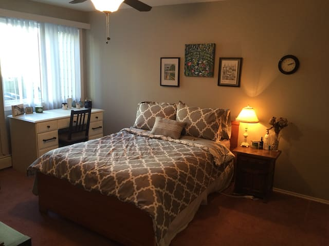 Sunny, Spacious 1-BR Close to Everything! - Calgary