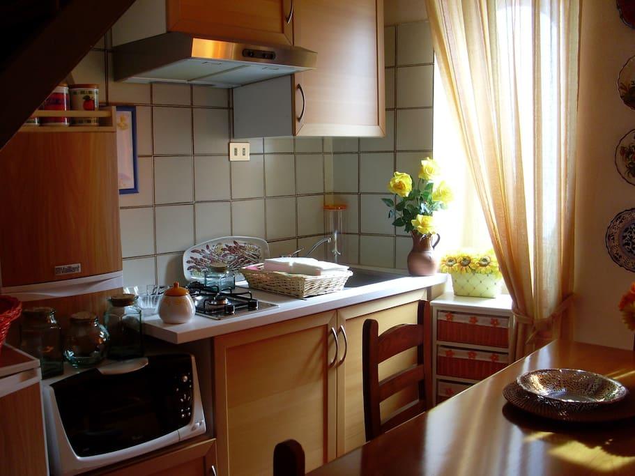 angolo cottura con microonde