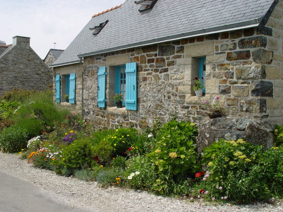 maison traditionnelle 6 personnes houses for rent in crozon brittany france. Black Bedroom Furniture Sets. Home Design Ideas