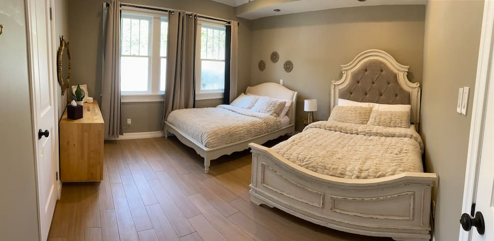 Two beds bedroom