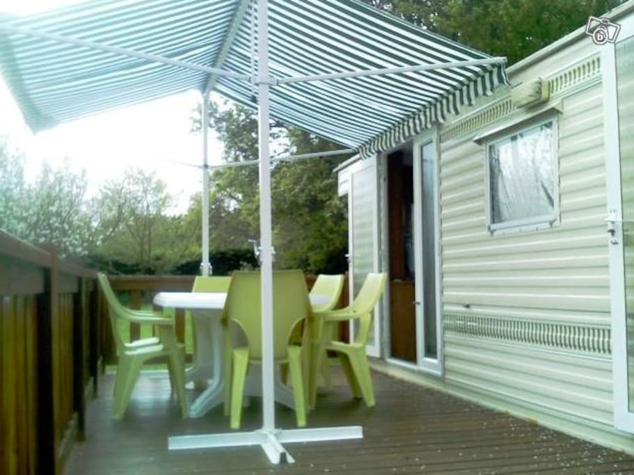 Mobil home pour 4 6 personnes campers rvs for rent in - Reglementation mobil home sur terrain prive ...