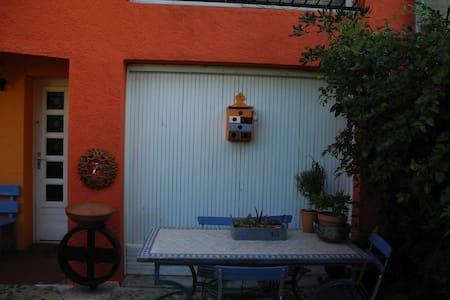 Brgitte and Jean Claude's home