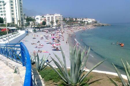Junto a la Playa