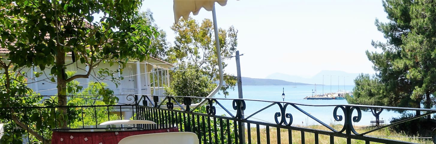 Sea view apartment with sunny big veranda - Lefkada - Appartement