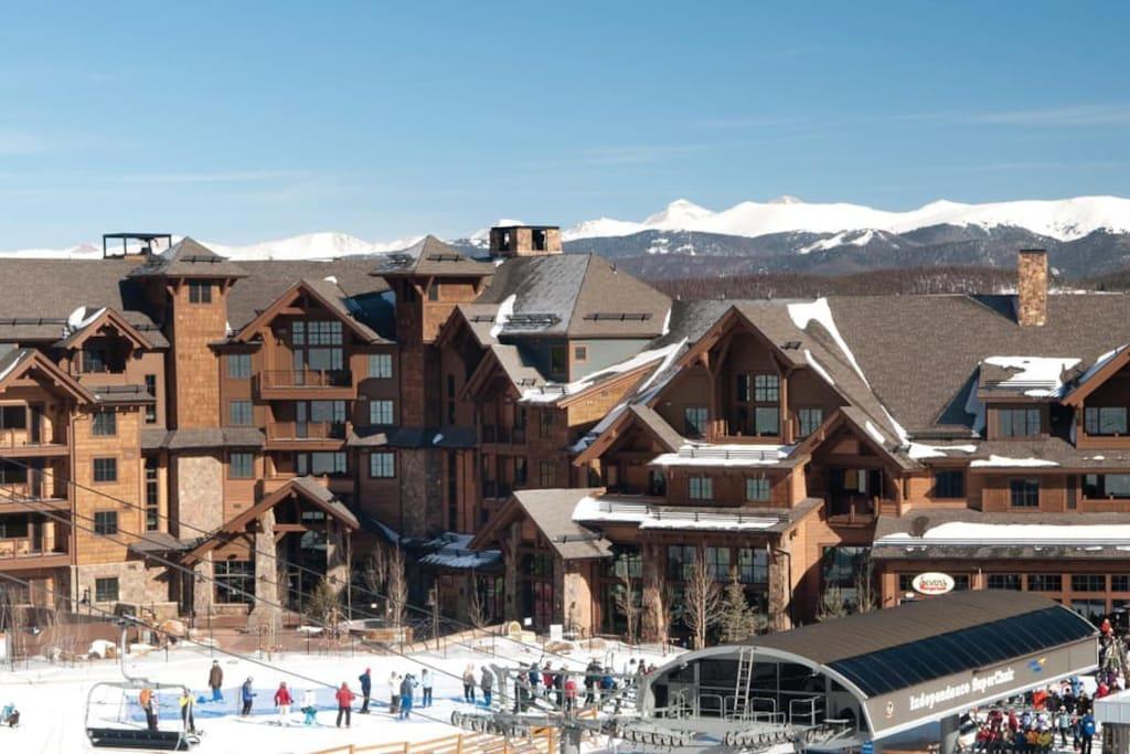 Grand Lodge On Peak 7 Cabins For Rent In Breckenridge