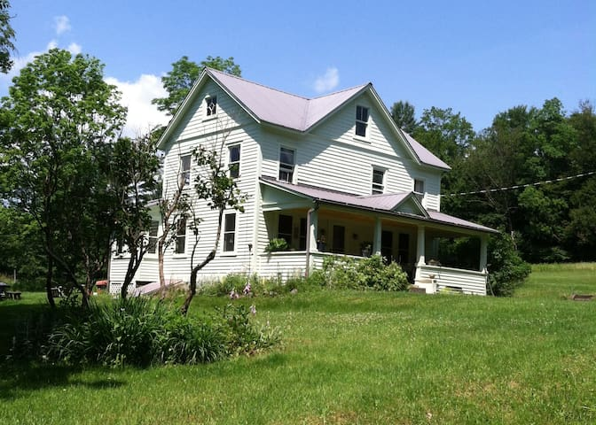 Catskill Area Charming Farm House - Cochecton - Casa