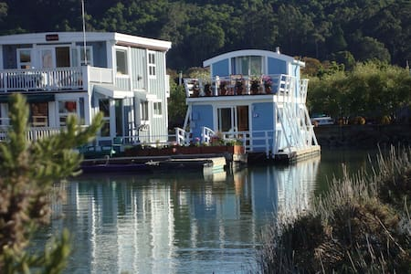 Floating Guest Cottage (houseboat) - Sausalito - Casa