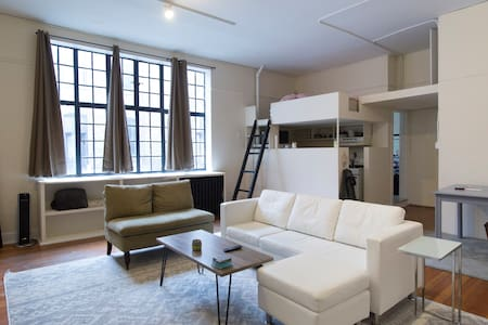 Large art studio in Lincoln park/Old town - Chicago - Apartment