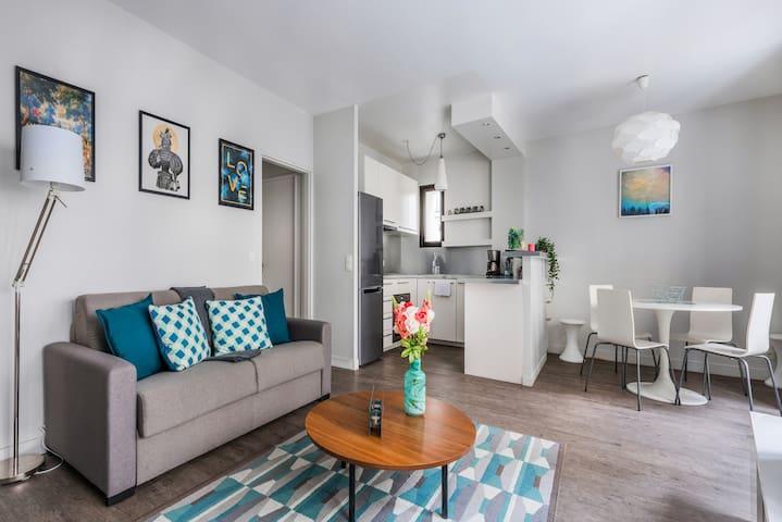 Pretty & Central apartment Paris