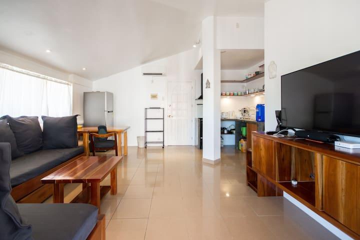 1 bedroom apartment in Scandi apartments.