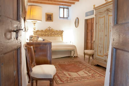 Frantoio in medieval tower house - Rignano sull'Arno, Florence - Flat