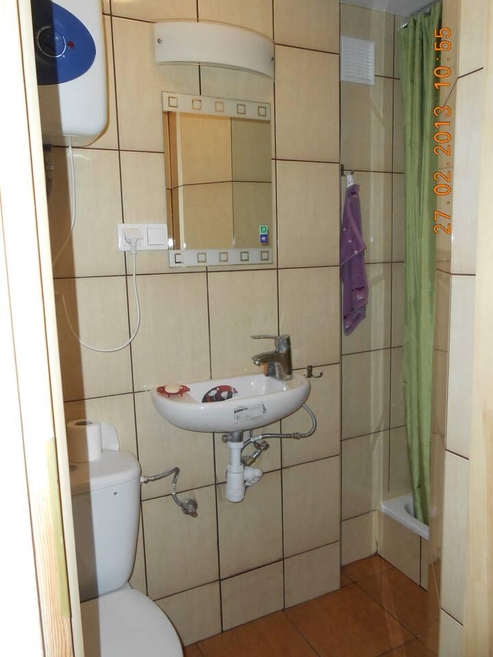 Pokój z łazienką w centrum Poznania