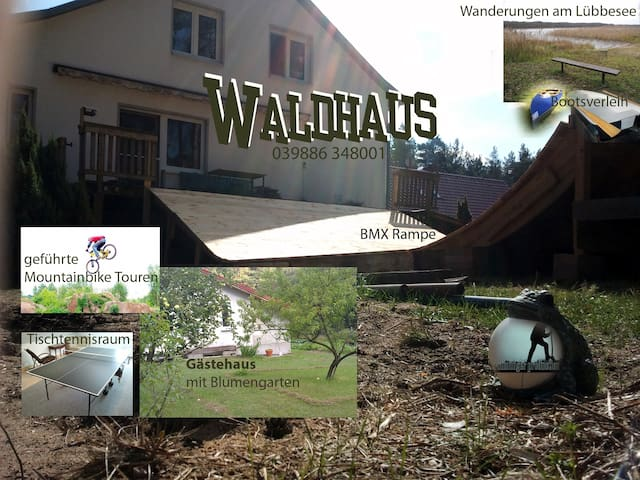 Waldhaus Petersdorfer Siedlung - Milmersdorf