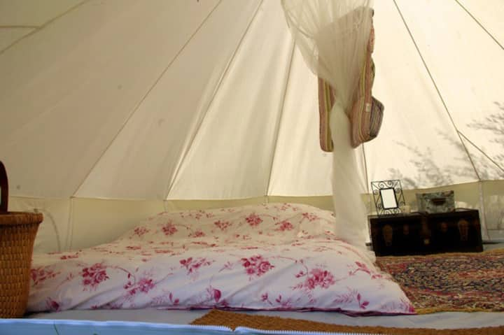 Large Canvas Bell Tents
