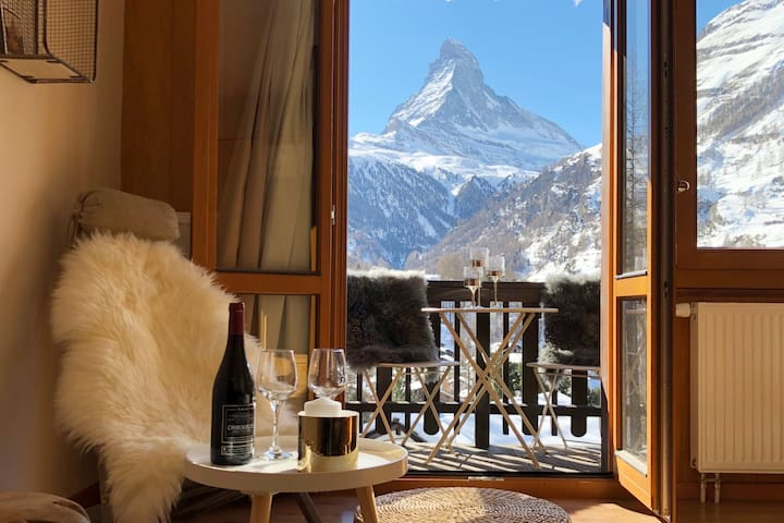 Le Dom, best views of Zermatt and Matterhorn!