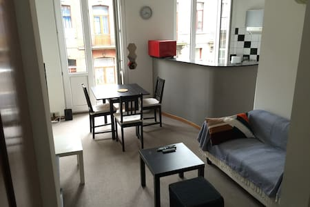 NEW! Cosy Appart near Gare du Midi & Center - Saint-Gilles